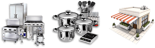 Restaurant Equipment, Smallwares, and Consulting services